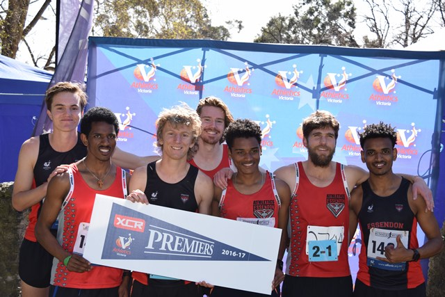 Essendon's Division 2 XCR'16 premiership team