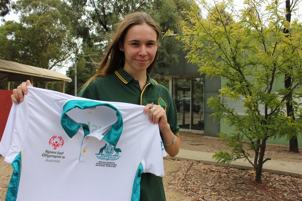 Athletics Essendon's Laura Butler will compete at the Special Olympics World Games in Abu Dhabi this week, representing Australia in the 200 metre sprint, long jump and relay race.
