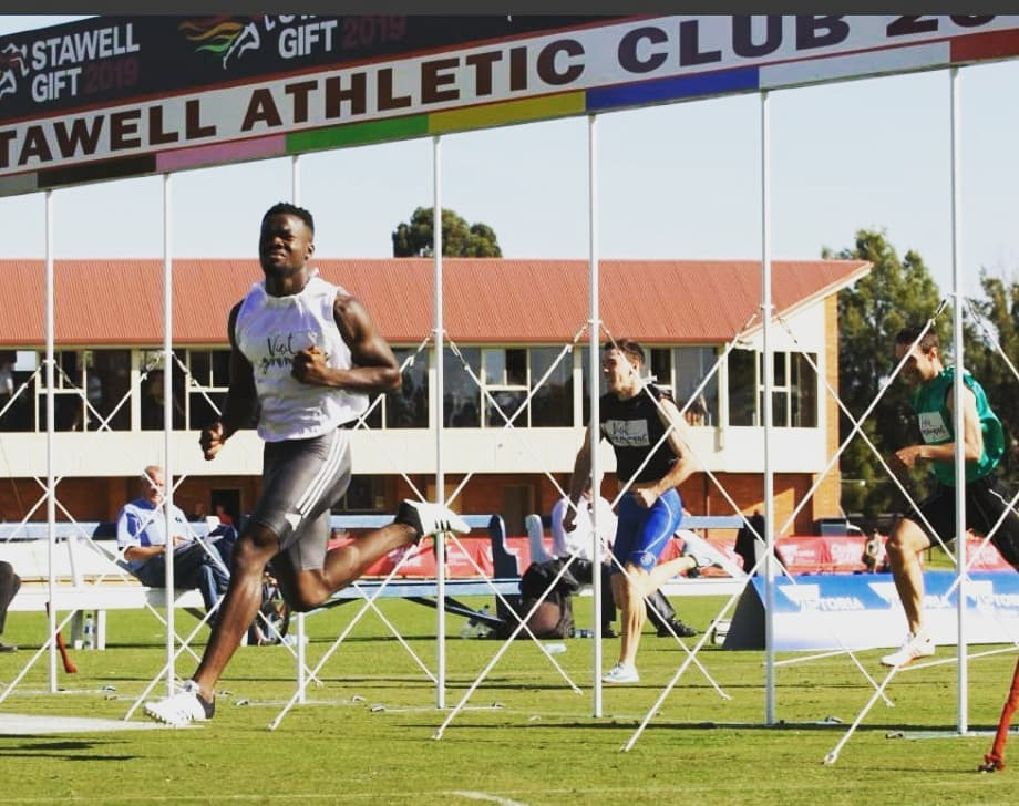 Athletics Essendon represented well at the 2019 Stawell Gift Easter carnival.