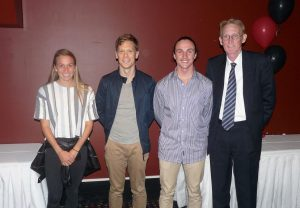 Amelia, Chris, Cameron & John