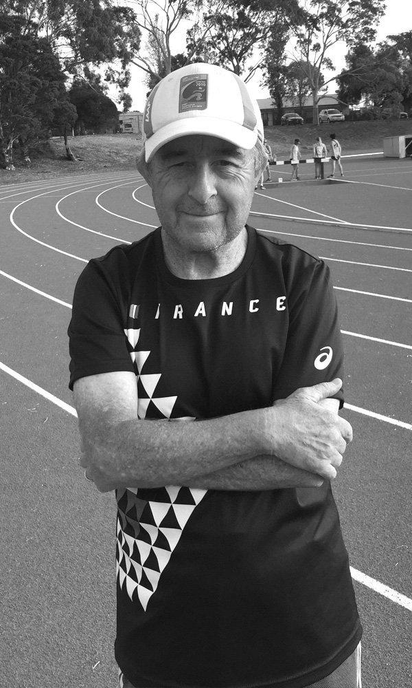 Athletics Coach Steve Gaffney