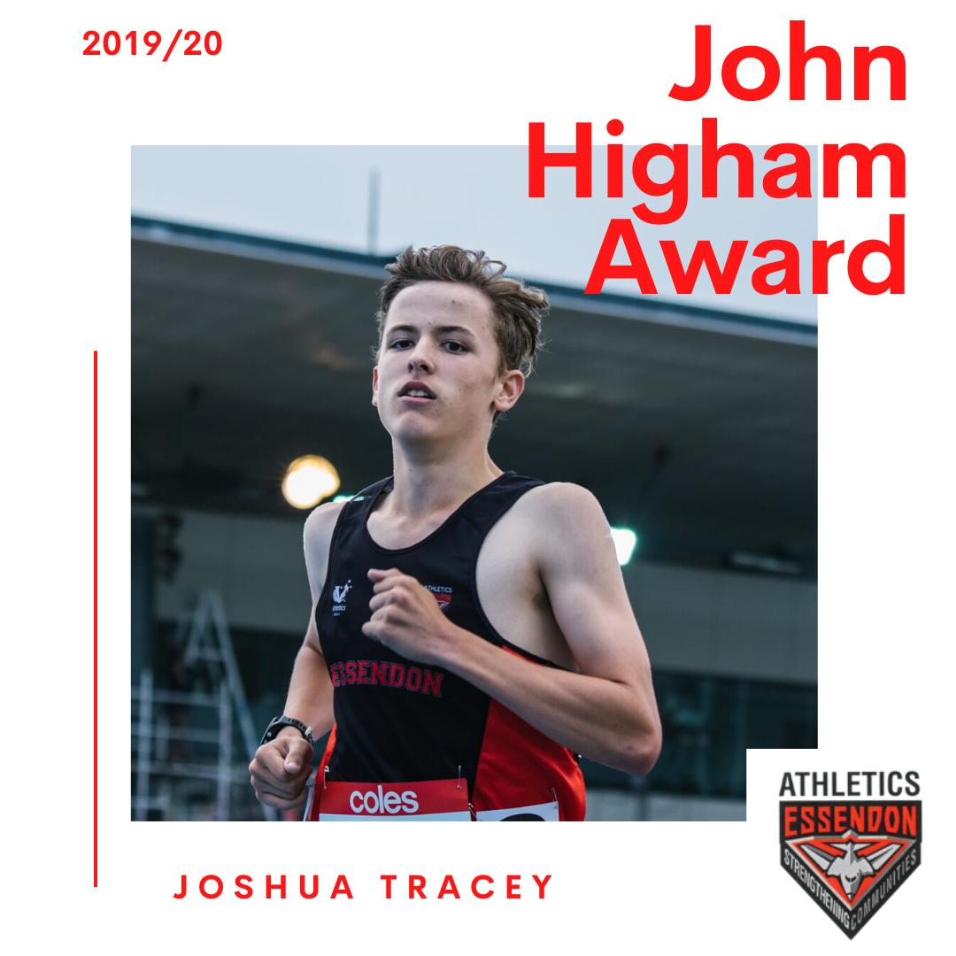 Presentation Night – John Higham Award